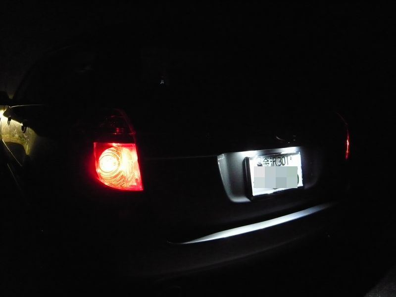 CORAZON LED LAMP SYSTEM for SUBARU ライセンスランプ
