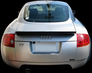 Audi TT Coupe S-line Limited (GH-8NBVR)リアビュー