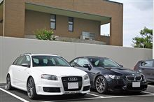 RS4 vs M3 M-DCT その2