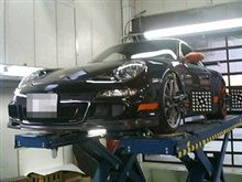 GT3RS入院中