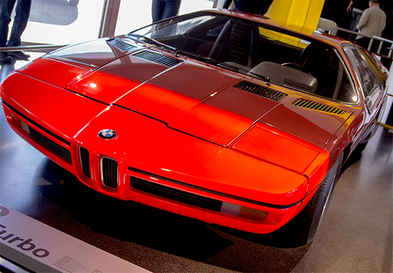 BMW Turbo 1972