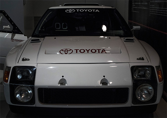 TOYOTA MR2 (222D) GroupS prototype トヨタ グループS