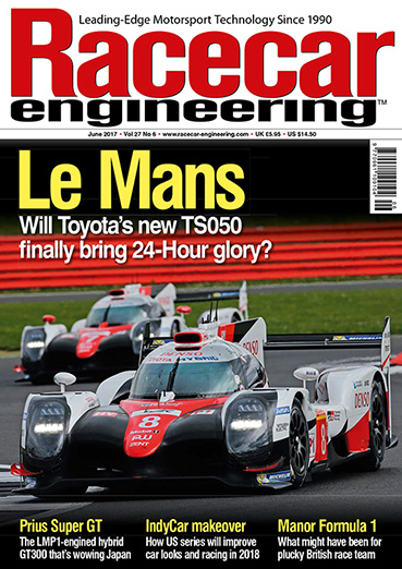 Racecar engineering June 2017, Vol27 No6