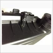 Aluminum taping on air cleaner housing