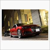 The Most Beautiful Audi Car - A5CAB/S5SB@汐留イタリア