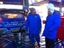 Rally Sweden After SS1