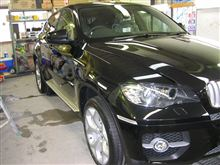BMW X6 カーフィルム施工