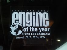 engine of the year