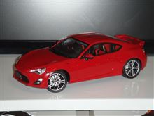 TOYOTA 86 PRE PAINTED MODELの製作