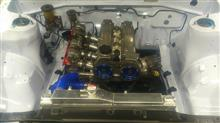 new ae86 engine bay