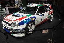 TOYOTA WRC History of the Entry of Toyota in WRC。