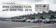 MINI CONNECTION. with MINI FES. 2016 参加します。