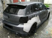 Volkswagen Golf Polo Fuza Rocket Bunny Style Front and Rear Wide GT Fenders