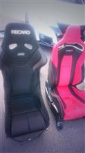 RECARO RS-G ASM  REMITED Ruby取り付け