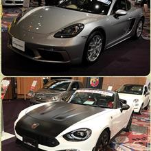 718CaymanとABARTH124spider試乗♪