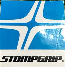 STOMPGRIP 貼り付け