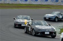 日曜日はRoadster Party Race IIIへ