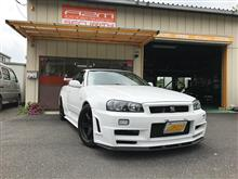 34GT-R 横浜より入庫!