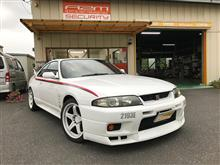 33GT-R 川越から入庫