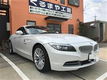 【BMW Z4 E89】ロックフォード スピーカー取付け