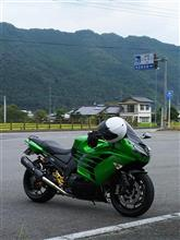 Newヘルメット…。(ZX-14R)