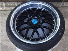 Tire & rim replacement for F32