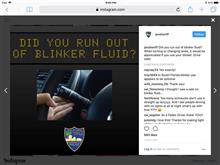 Blinker is Optional in Florida!