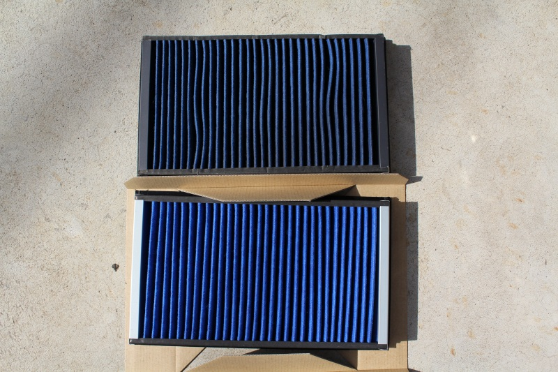 BLITZ SUS POWER AIR FILTER LM 取り付け 2回目