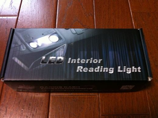 racing dash led interior reading light by 13ccz. Black Bedroom Furniture Sets. Home Design Ideas