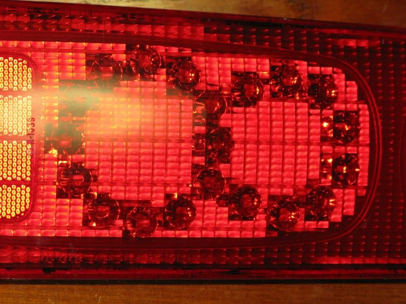 DC2 taillight LED Processing 1 製作中 LEDテール途中経過