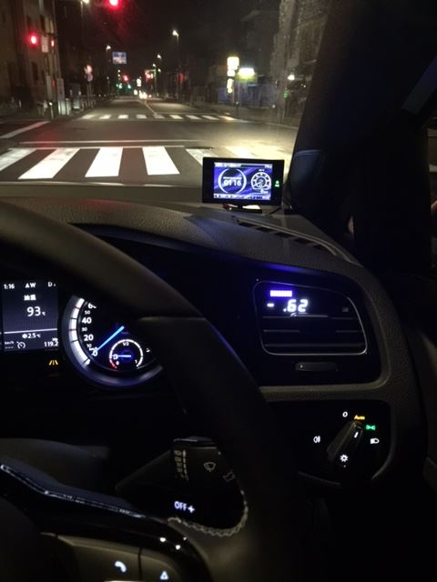 P3 Cars  Vent Integrated Digital Interface  取付け