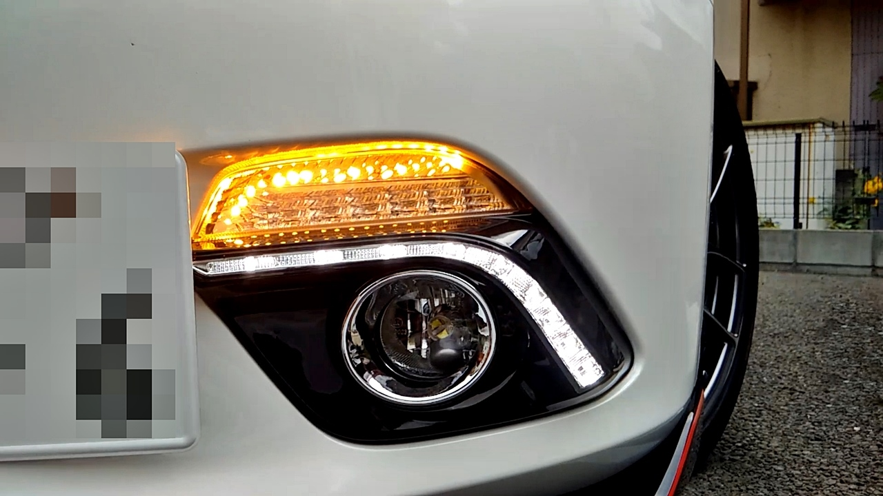 MAZDA3 Front LED Turn Signal with DRL Light