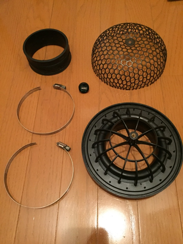 HKS SUPER POWER FROW FILTER 交換