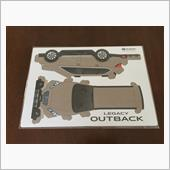 OUTBACK ペーパークラフトの画像