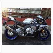 YZF-R1MにTwo Brothersのマフラー装着