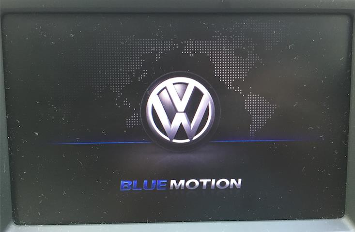 【VCDS】スタートアップ画面をBlue Motionに変更