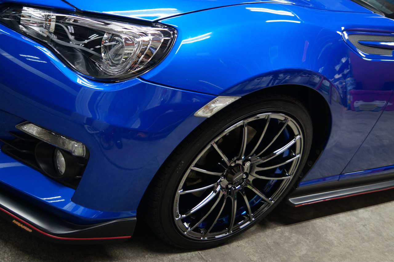 BRZ ys special ver.2 施工完了です^^