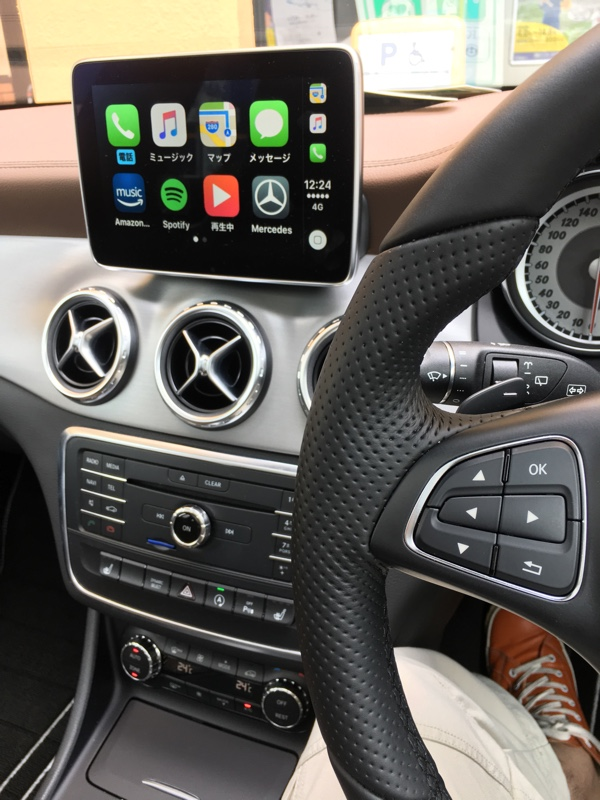 Apple CarPlay KIT取り付け