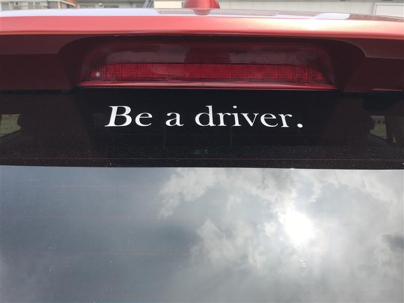 Be a driver