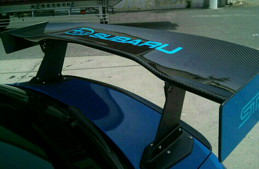 VOLTEX  GT wing  の 干渉対策