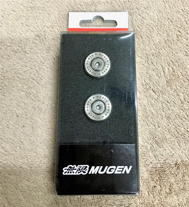MUGEN / 無限 Number Plate Bolts 取り付け(ボルト延長化)