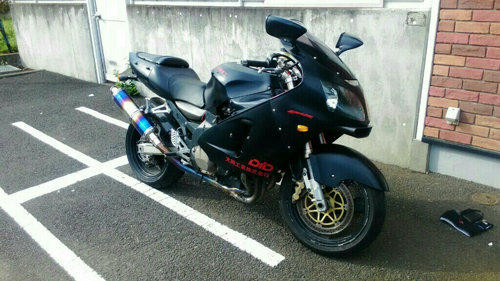 ZX-12R フロントフォークOH その2