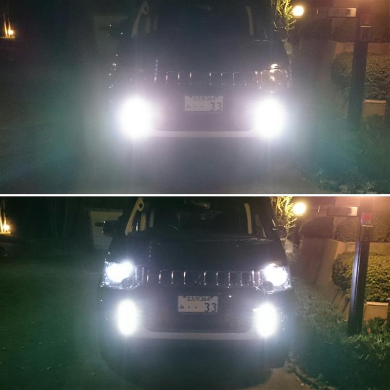 X4X  DAY  TIME  RUNNING  LAMP  取り付け