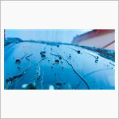【Glass water repellent finish】