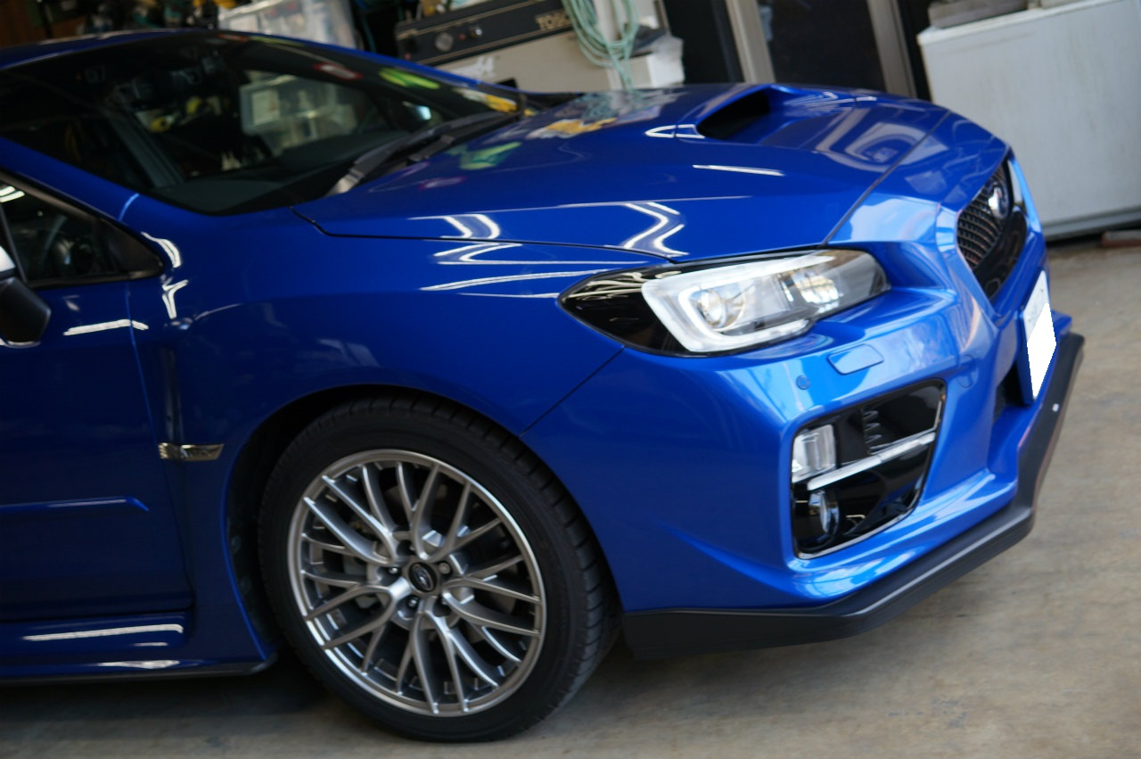ys special ver.2 施工後1年 WRX S4 メンテナンスにて御来店頂きました^^