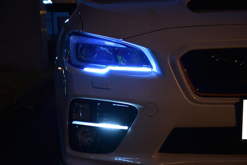 AXIS PARTSのLEDテープ取り付け