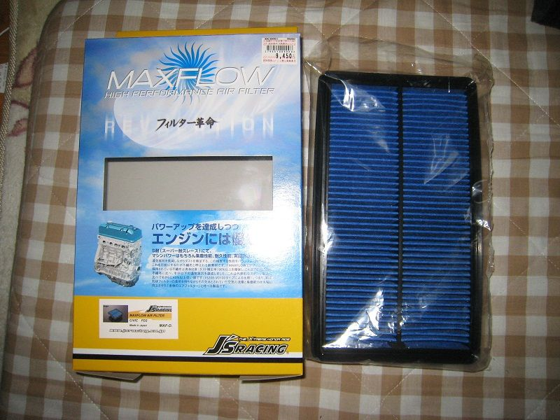 J'sRACING MAXFLOW AIR FILTER