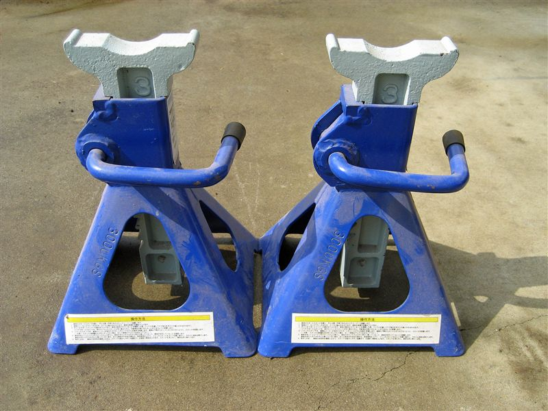 Snap-on  ブルーポイント RATCHEING JACK STAND PAIR 3トン