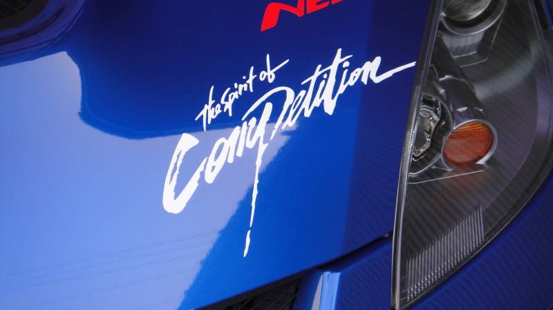 RALLIART The Spirit of Competition ステッカー