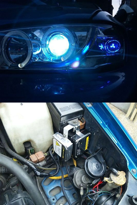 ?? H1 HID Loビーム
